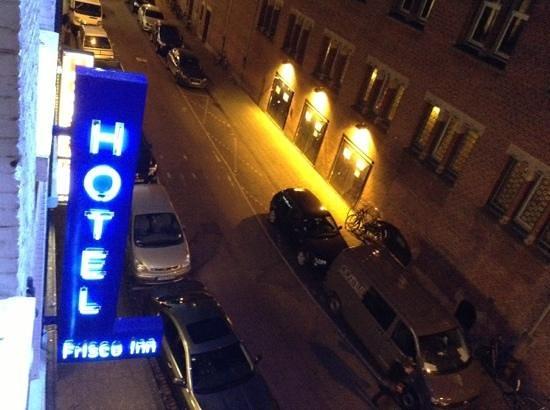 Frisco Inn Bar Hotel: streetview south