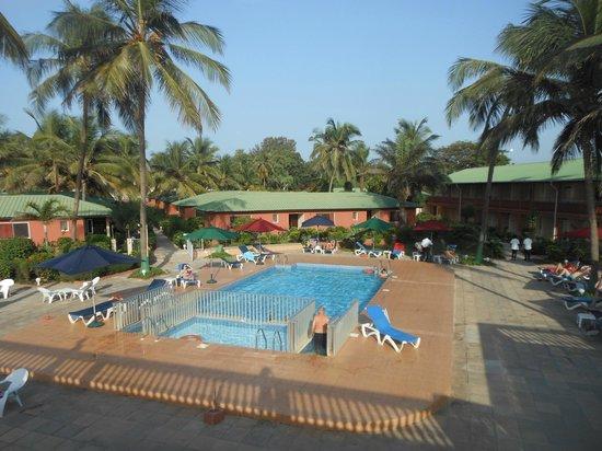 Sunset Beach Hotel: uitzicht vanuit de kaper
