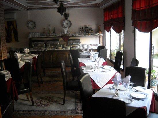 The Atlantic Hotel: Salle de restaurant
