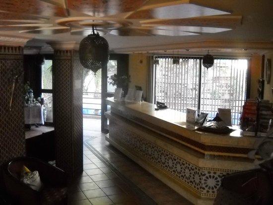 The Atlantic Hotel: Accueil