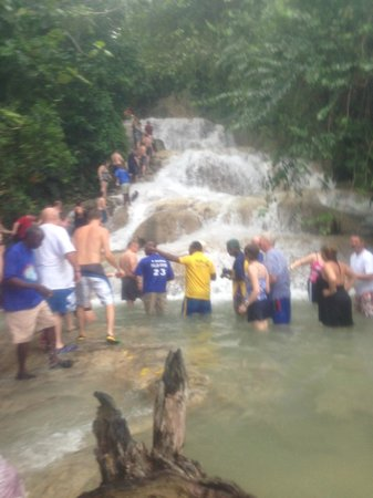 Dunn's River Falls and Park: Bottom of Dunns River
