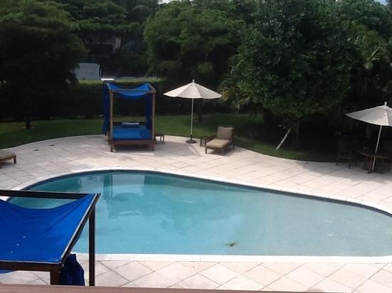 Villa del Mar: the small pool