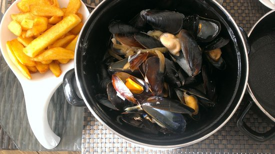 Palm Beach: plump, juicy mussels