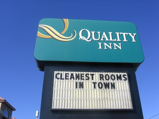 Quality Inn: Unjustly superlative