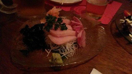 Musha Restaurant: Hamachi