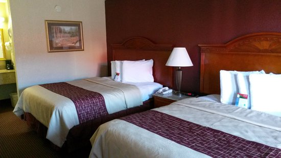 Red Roof Inn & Suites Pigeon Forge - Parkway: our room