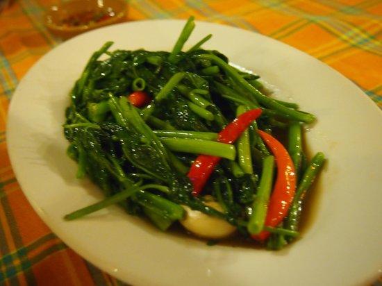 Baanthai Seafood Restaurant: morning glory