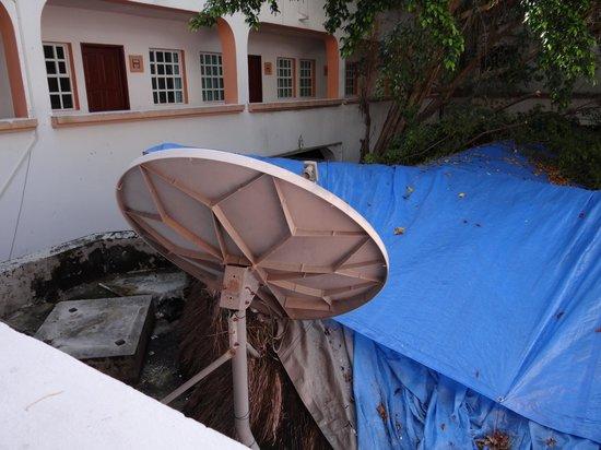 Hotel Vista Caribe: Vue sur la cour