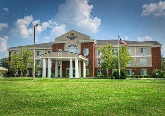 The beautiful Comfort Inn of Demopolis.