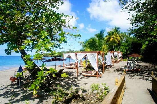 Ti Kaye Resort & Spa : Secluded Beach