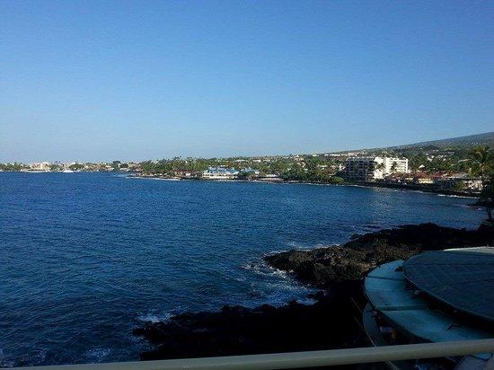 Royal Kona Resort : Town view