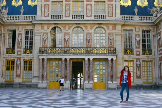 marble courtyard at palace of versailles picture of blue fox travel paris tripadvisor. Black Bedroom Furniture Sets. Home Design Ideas