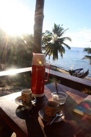 Komba Forever: coffee at bungalow