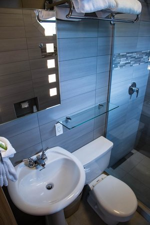 The Adventure Hotel: Deluxe Bathroom