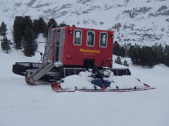 Nederhütte: snow taxi