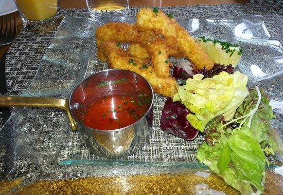 Mizen Head Hotel: Fish gujons