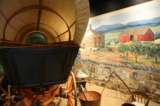 Luray Valley Museum : Where  new Settlers came in, to the land of plenty.