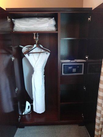 Millennium & Copthorne Hotels at Chelsea Football Club : Twin room 1308 cupboard
