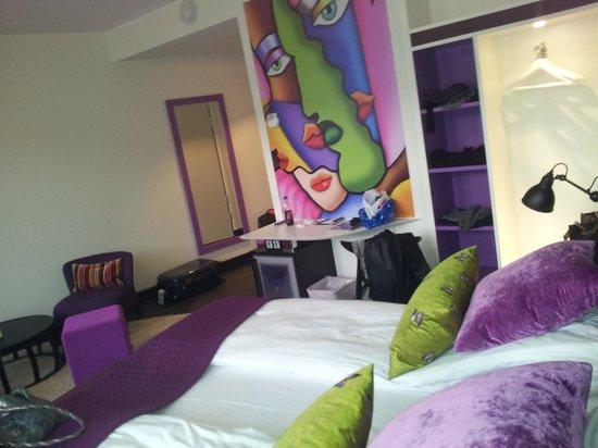 Hotel No 13: Moderne og lekkert rom