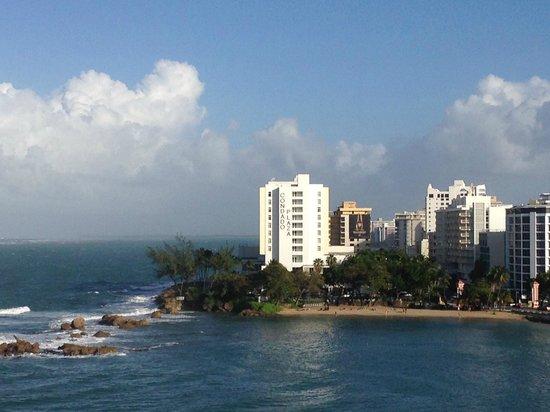 Condado Lagoon Villas at Caribe Hilton: City, Caribbean Sea, and Lagoon Views from Jr Suite