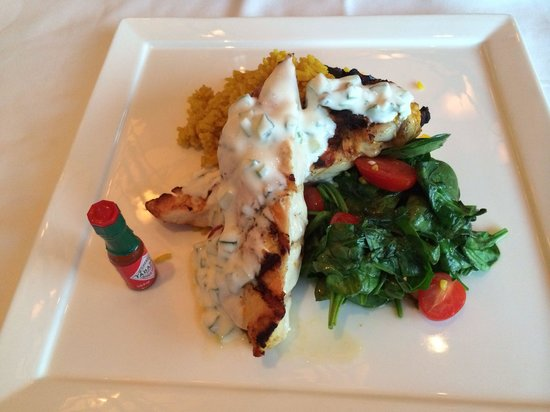 Azul at Mandarin Oriental : Chicken with rice