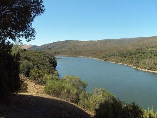 Monfrague National Park: El Tiétar desde el mirador de la Higueruela.