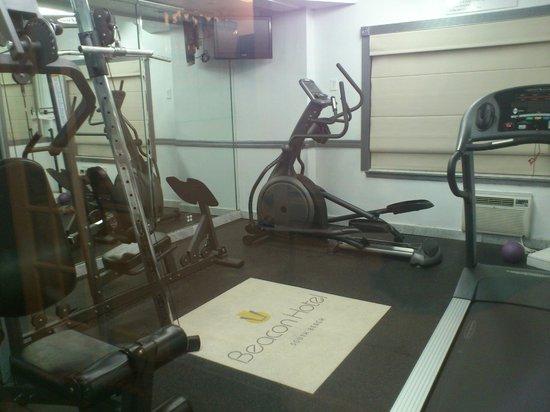 Beacon Hotel: Fitness room