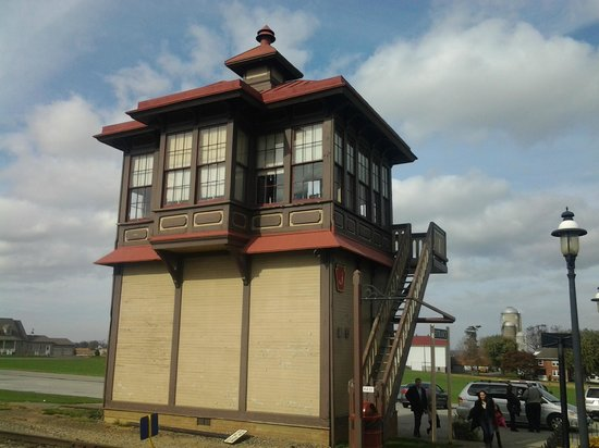 Strasburg Rail Road: Signal Box