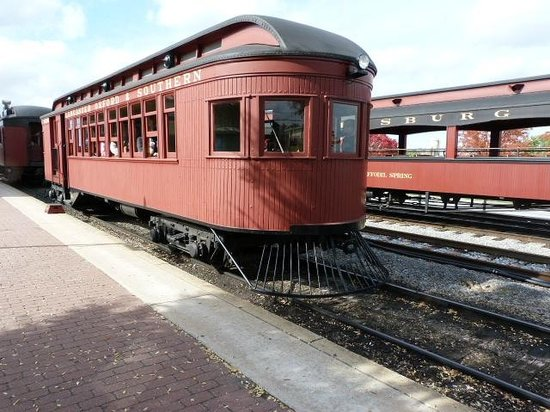 Strasburg Rail Road: Motor car