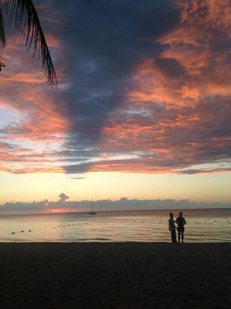 Nirvana on the Beach: Grand Sunset