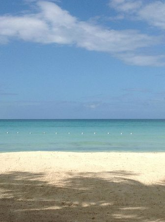 Nirvana on the Beach: Beach view