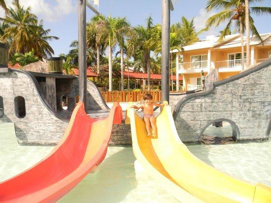 Grand Palladium Palace Resort Spa & Casino : piscina niños