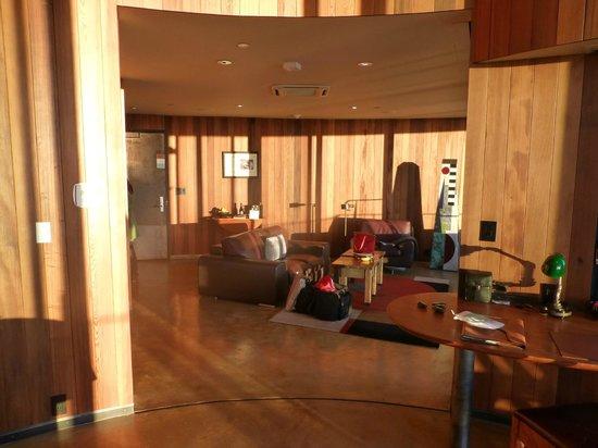 Post Ranch Inn: Living Area