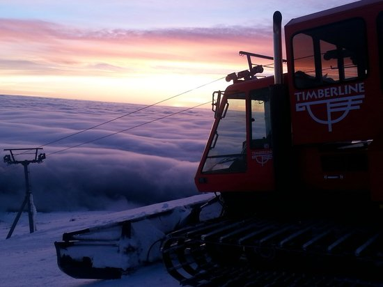 Timberline Lodge: Snow Cat - phenomenal - totally recommend!