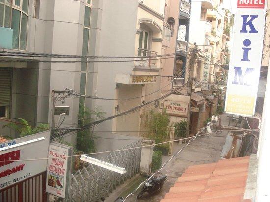 Kim Hotel: Вид с балкона