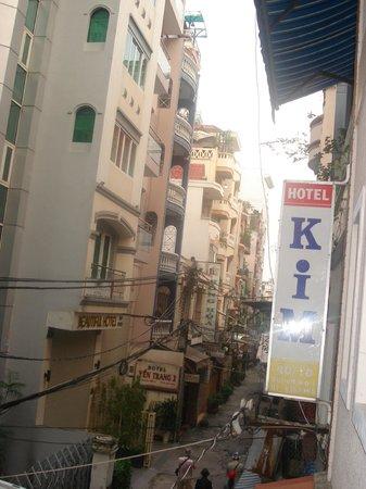 Kim Hotel: Вид с балкончика