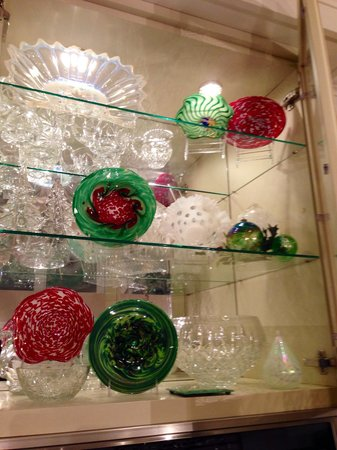Island Glassblowing Studio: Part of my Christmas collection