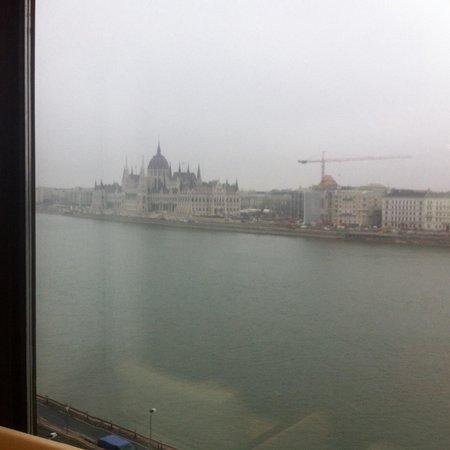 Boutique Hotel Victoria Budapest : 最高の眺め