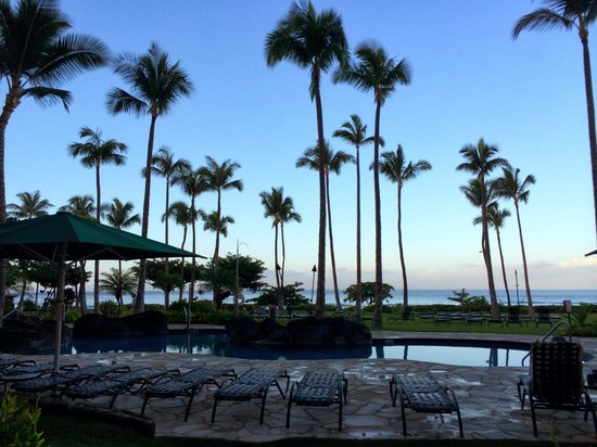 Marriott's Maui Ocean Club  - Lahaina & Napili Towers : The view from our back door!
