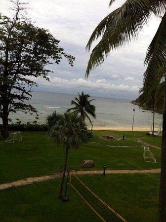 Merlin Beach Resort: View from balcony