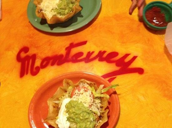 Monterrey Mexican Restaurant: two taco salads