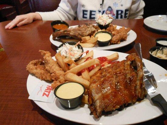 Fatz Cafe Restaurant Menu