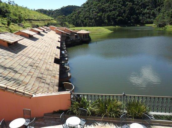 Fazenda Ribeirao Hotel De Lazer: quartos do lago
