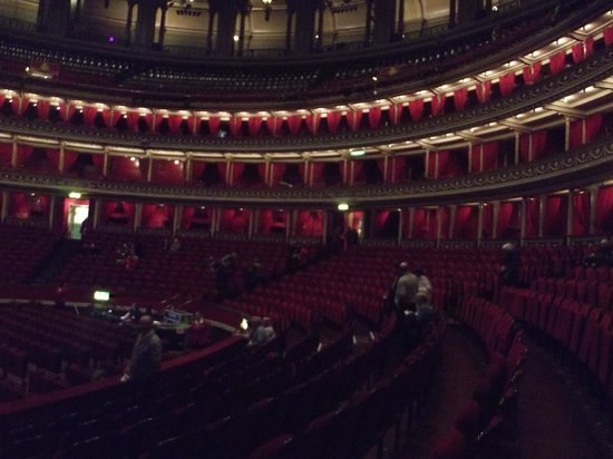 Interior del royal albert hall picture of royal albert for Door 12 royal albert hall