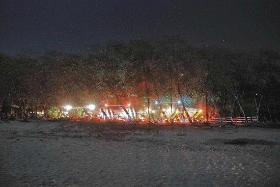 Rocamar Beach: Night view