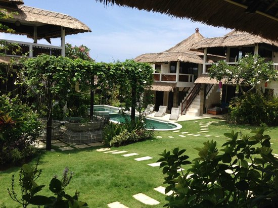 Hill Dance Bali, American Hotel: Gorgeous grounds