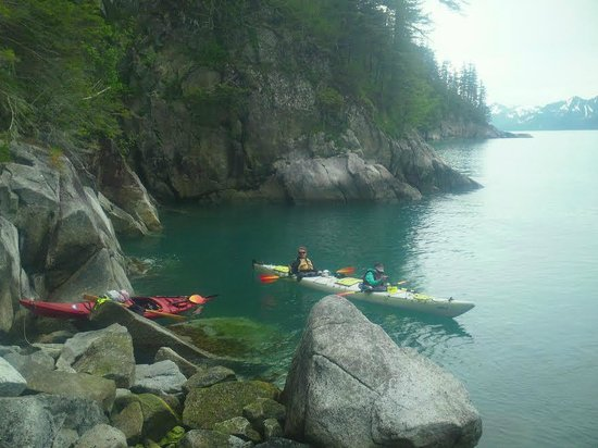 Adventure Sixty North - Day Trips : Stopping for Glacier water