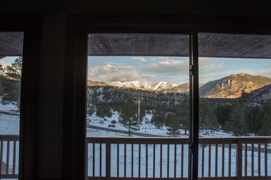 YMCA of the Rockies: view from Aloha cabin