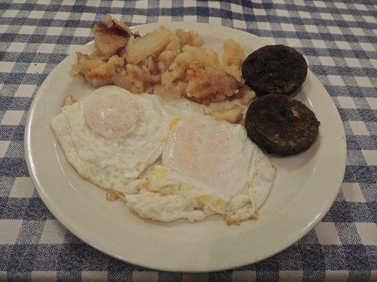 Blue Plate Cafe: Breakfast
