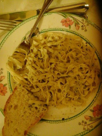 Hotel Campiglione: linguini with fresh truffles